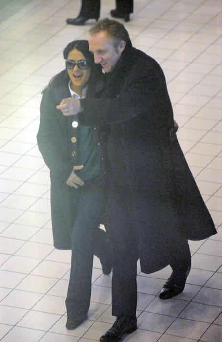 Сальма Хайек и Франсуа Анри Пино