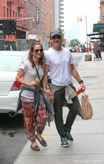Роберт Дауни младший с женой