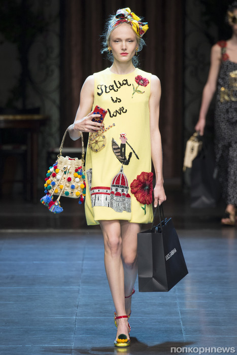 Коллекция дольче габбана юбки