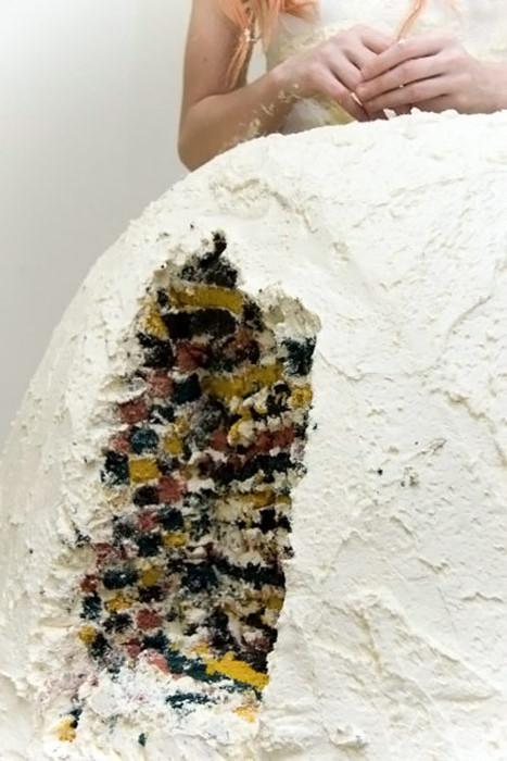платье-торт