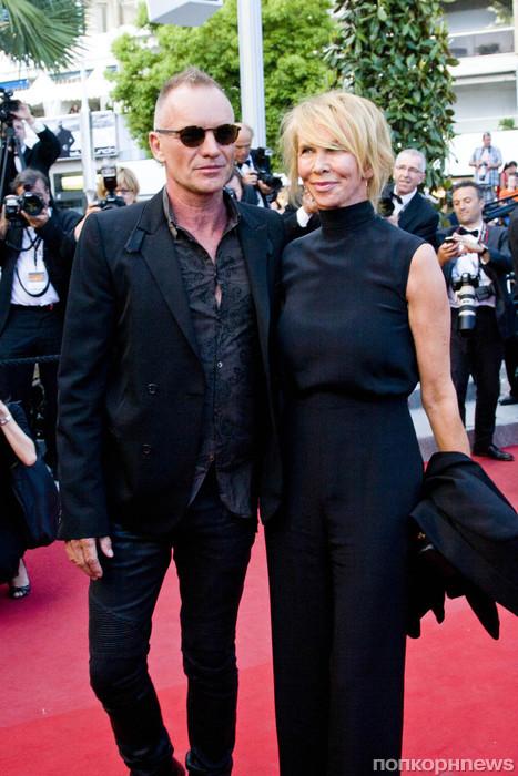 Стинг и его жена Труди Стайлер