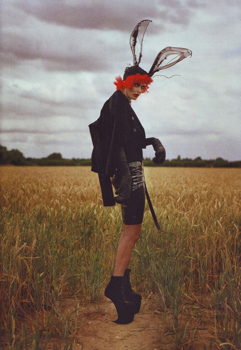 Фотосессия для Harper's Bazaar