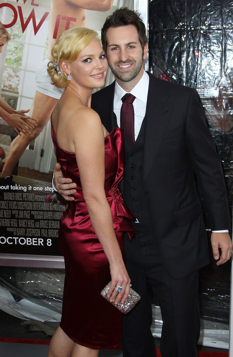 Кэтрин Хайгл с мужем