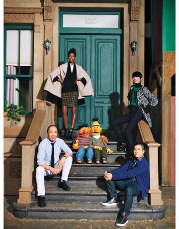 Улица Сезам в журнале Harper's Bazaar