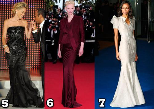 10 лучших нарядов 2009 года