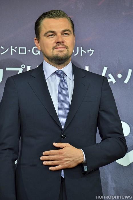 Леонардо ДиКаприо на премьере фильма «Выживший» в Токио
