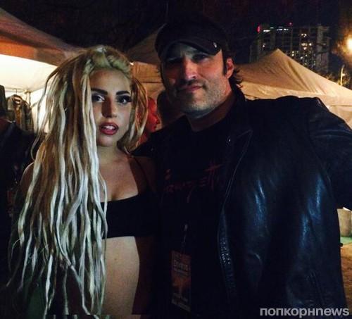 Lady GaGa и Роберт Родригес