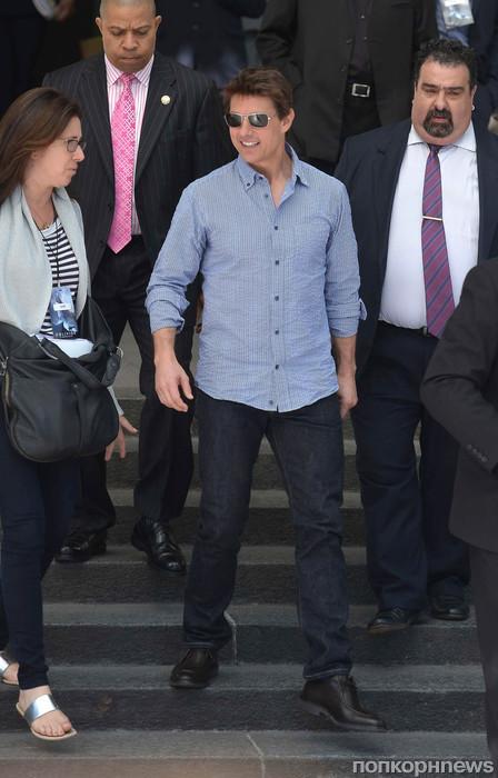 Том Круз прибыл в Буэнос-Айрес