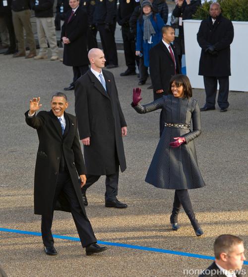 Барак Обама и Мишель Обама