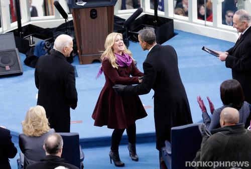 Келли Кларксон и Барак Обама
