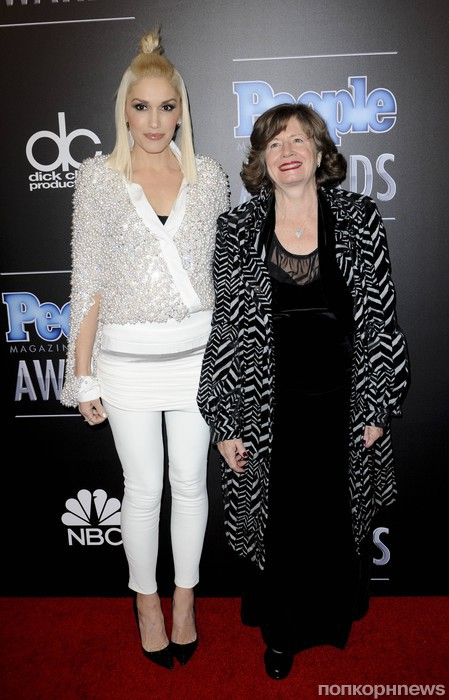Гвен Стефани с мамой