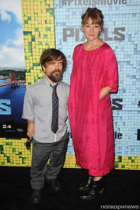 Питер Динклэйдж  с женой