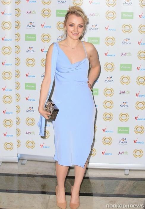 Актриса «Гарри Поттера» Эванна Линч на церемонии National Film Awards 2017 в Лондоне