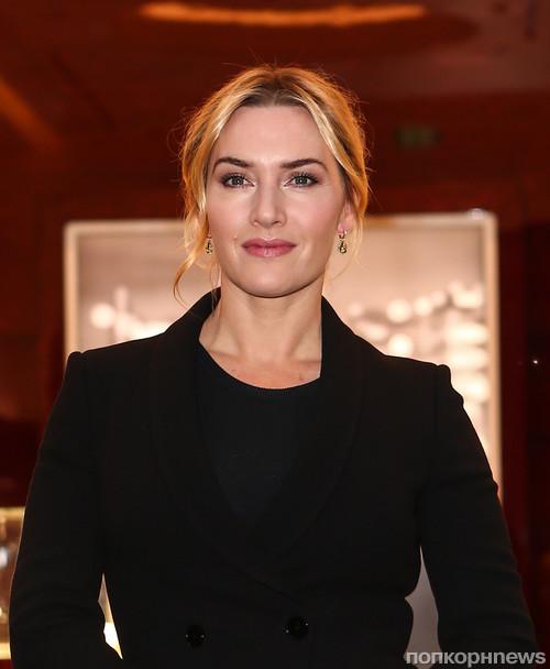 Очаровательная Кейт Уинслет на открытии бутика в Лондоне
