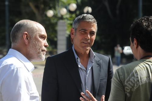 Джордж Клуни и Джон Малкович