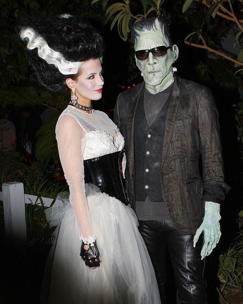 Майкл Шин с дочкой