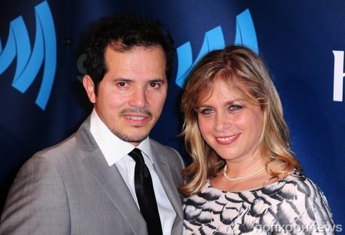 Джон Легуизамо с женой