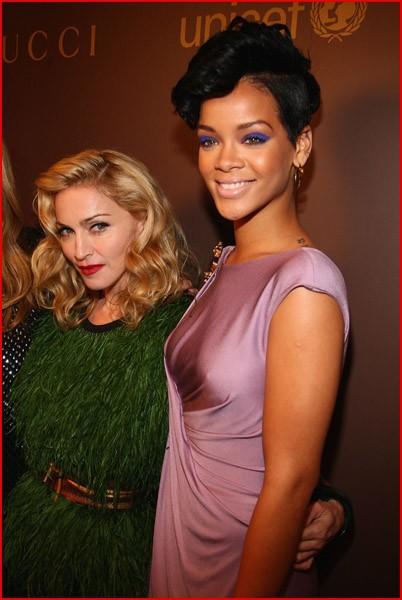 Мадонна и Рианна