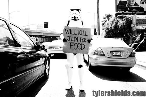 убиваем джедаев за еду