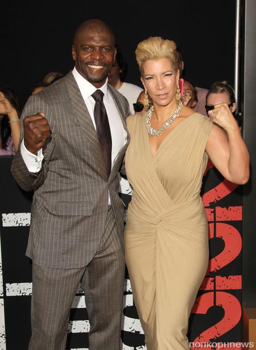 Терри Крюс с женой