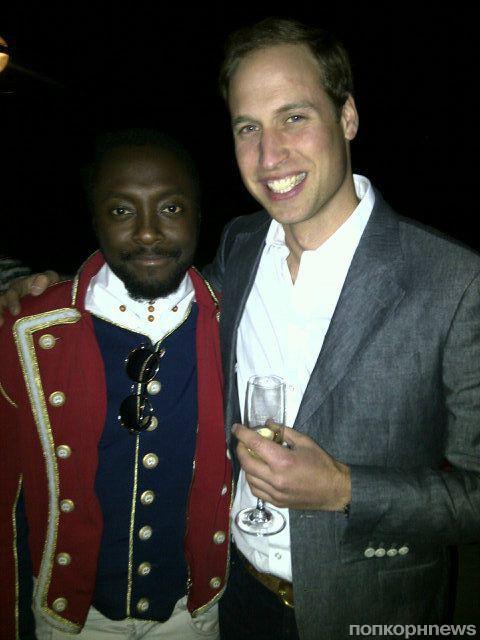 Will.i.am и принц Уильям