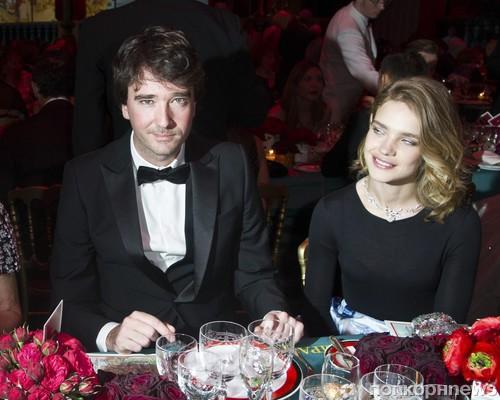 Наталья Водяенова и Антуан Арно