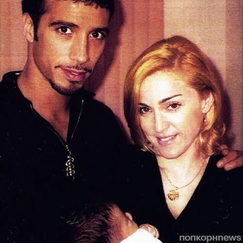 Карлос Леон, Мадонна и новорожденная Лурдес