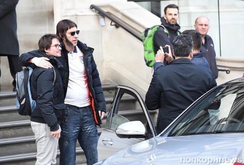 Саша Барон Коэн замечен на выходе из отеля в Лондоне