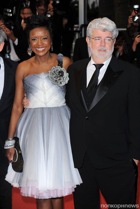 Джордж Лукас с женой