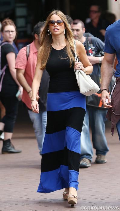 София Вергара гуляет с женихом по Сиднею