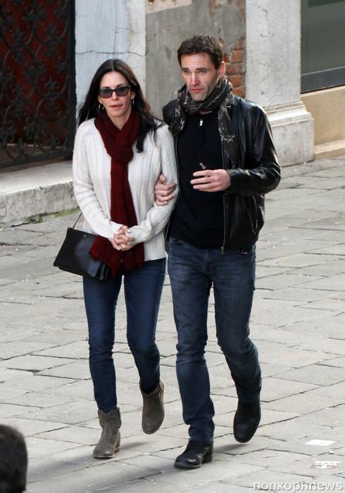 Кортни Кокс и Джонни МакДэйд на романтическом свидании в Венеции