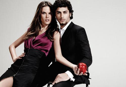 Jesus Luz and Alessandra Ambrosio