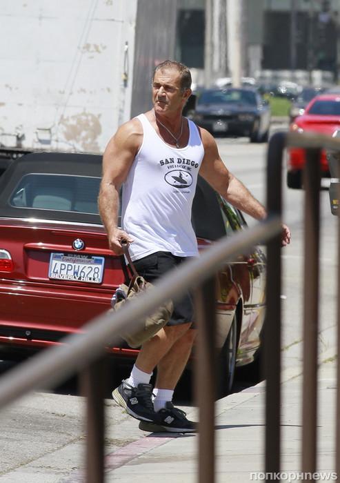 Мел Гибсон в отличной физической форме