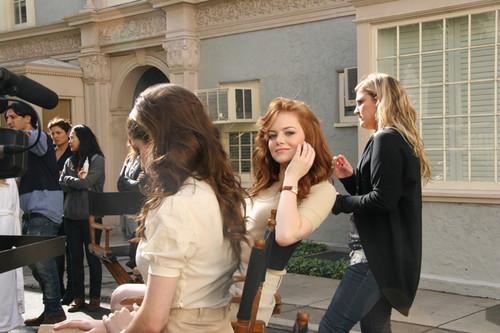 Фото со съемок для журнала Vanity Fair