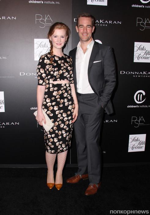 Джеймс Ван Дер Бик с женой