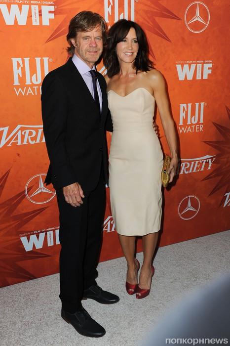 Фелисити Хаффман с мужем