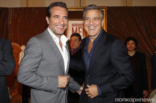Жан Дюжарден и Джордж Клуни