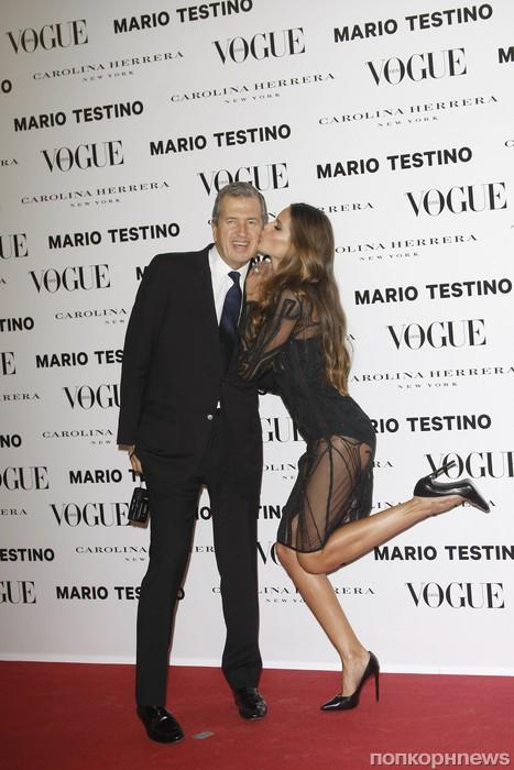 Марио Тестино и Изабель Гулар