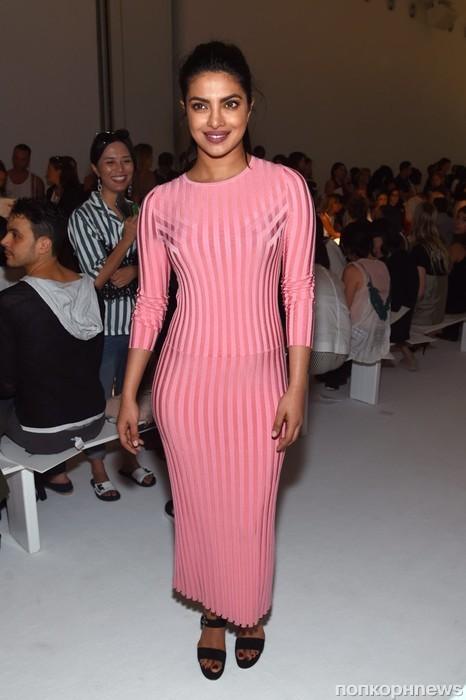 Приянка Чопра на Неделе моды в Нью-Йорке