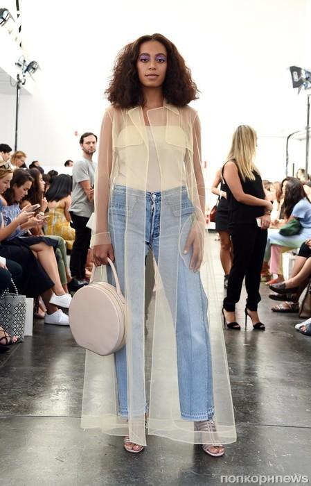 Соланж Ноулз на Неделе моды в Нью-Йорке