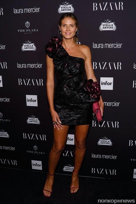 Хайди Клум на Неделе моды в Нью-Йорке