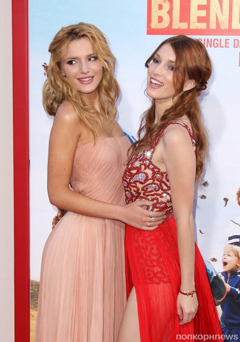 Белла Торн с сестрой