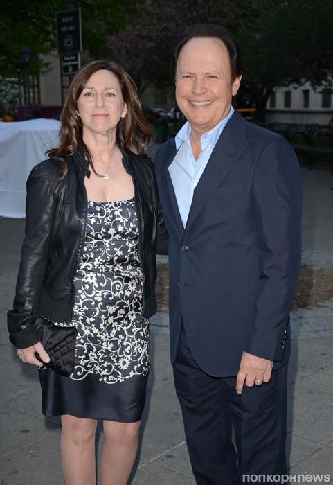 Билли Кристал с женой