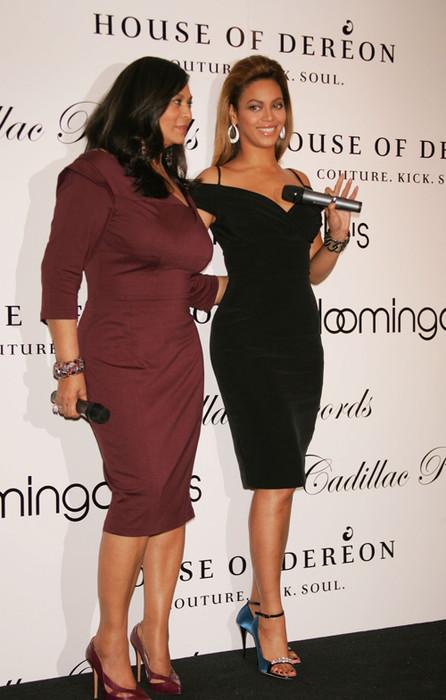 Бейонси и ее мама