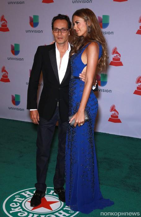 Марк Энтони с женой