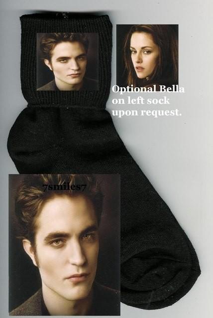 носки с изображением Эдварда и Беллы