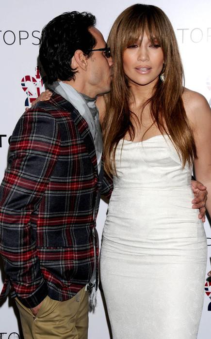 Дженнифер Лопес с мужем