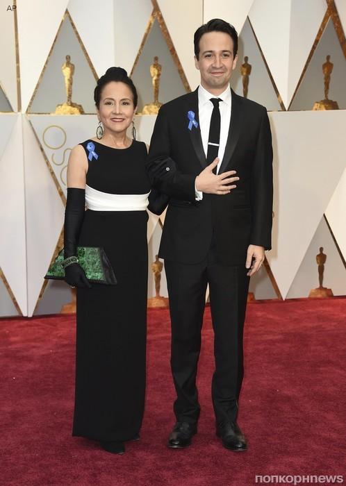 Лин-Мануэль Миранда привел на Оскар свою маму