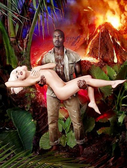 Lady GaGa и Кани Вест