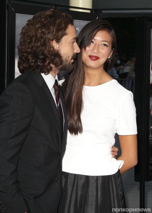 Шайа ЛаБеф и его девушка